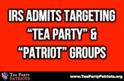 Application for Tax Exempt Status to Be Eased by IRS – Except for the Tea Party